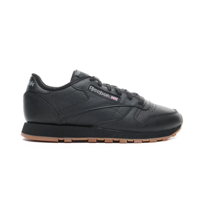 Classics Leather Kadın Siyah Spor Ayakkabı