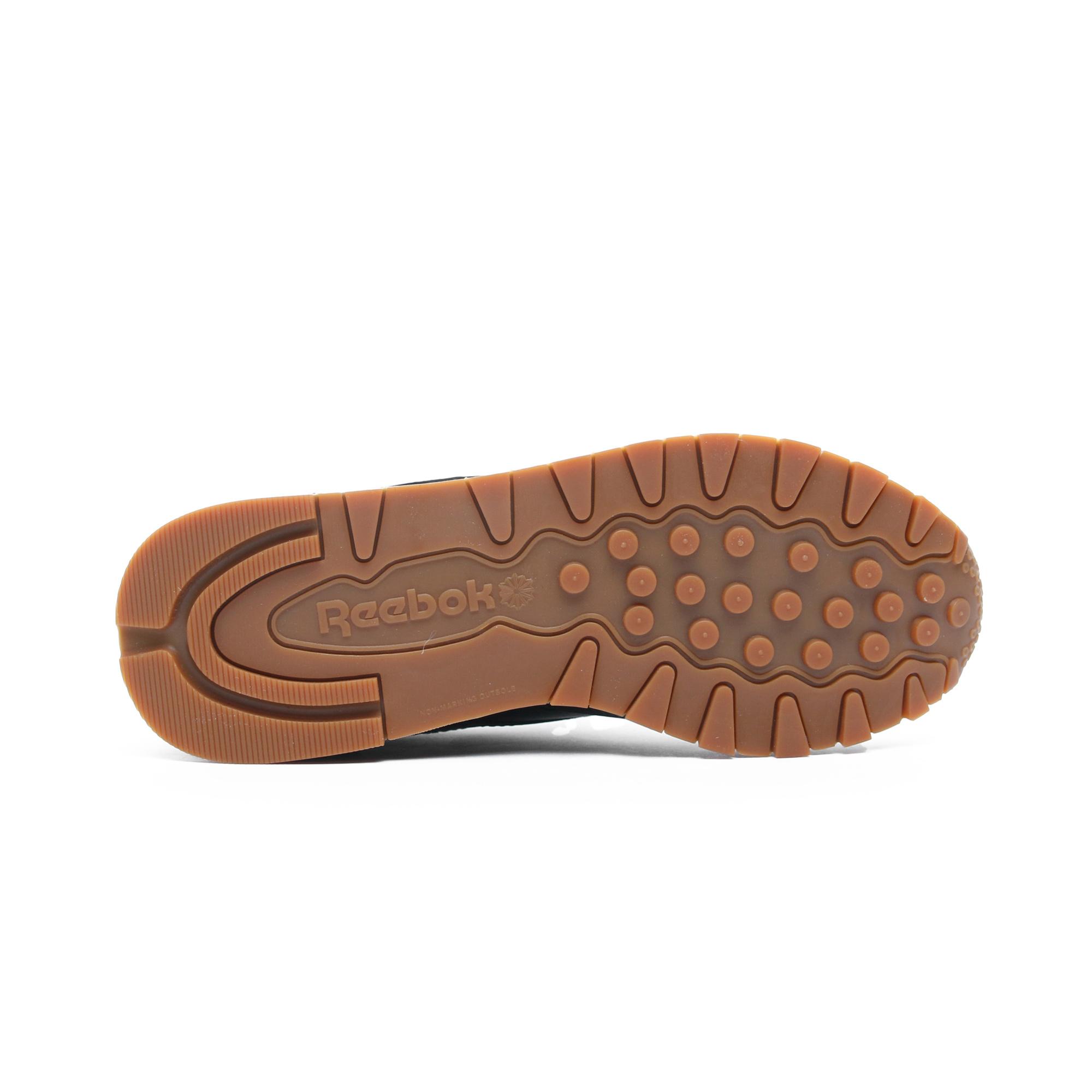 Reebok Classics Leather Kadın Siyah Spor Ayakkabı