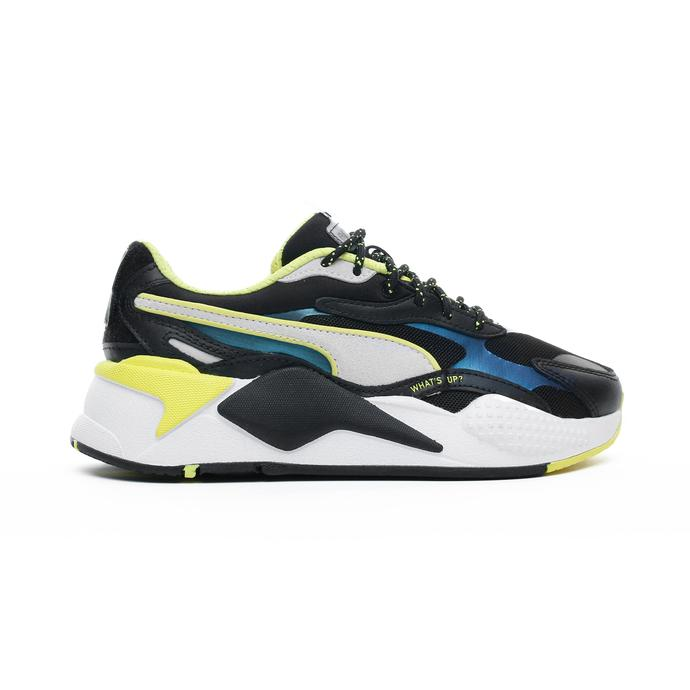 RS-X³ x Emoji Siyah Unisex Spor Ayakkabı