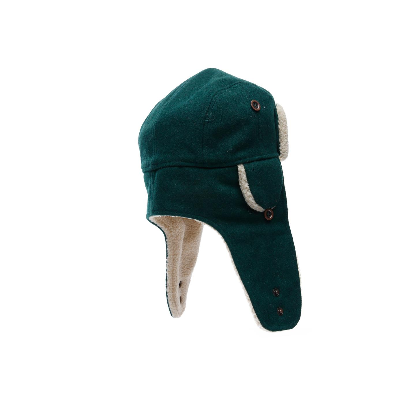 New Era Winter Utility Trapper Unisex Yeşil Şapka