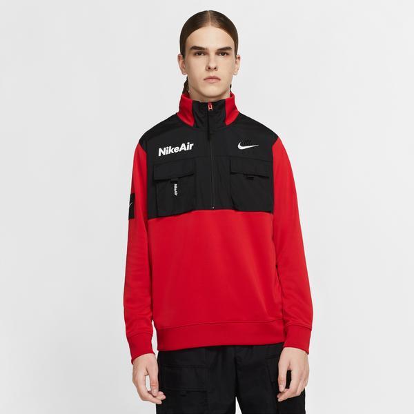 Nike Sportswear Air Erkek Kırmızı Sweatshirt