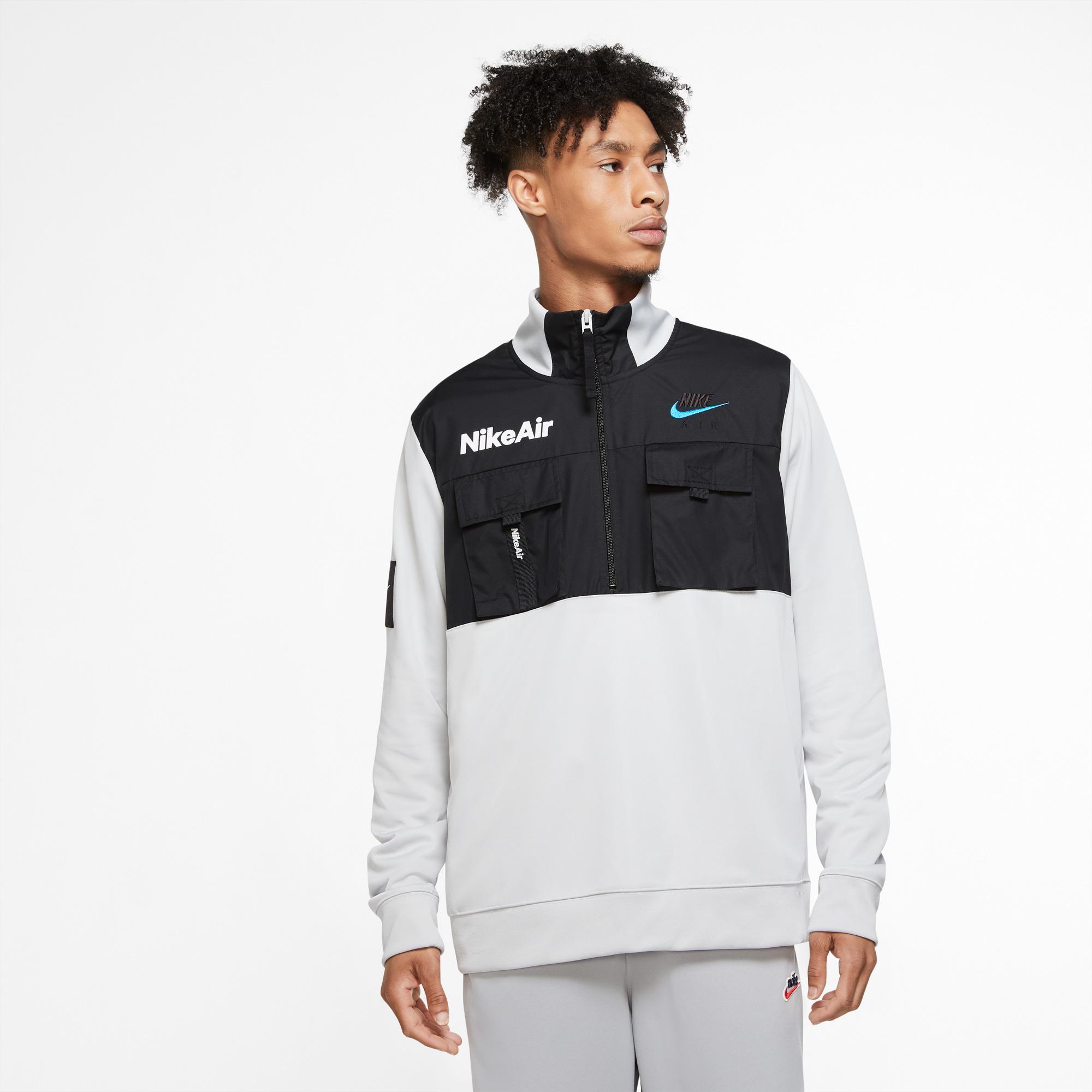 Sportswear Air Erkek Gri Sweatshirt