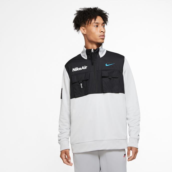 Nike Sportswear Air Erkek Gri Sweatshirt