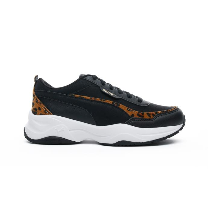Cilia Mode Leo Kadın Siyah Spor Ayakkabı