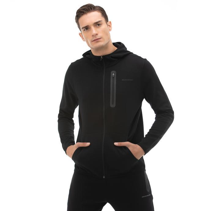 2X I-Lock Erkek Siyah Sweatshirt
