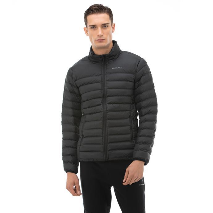 Outerwear Erkek Siyah Mont