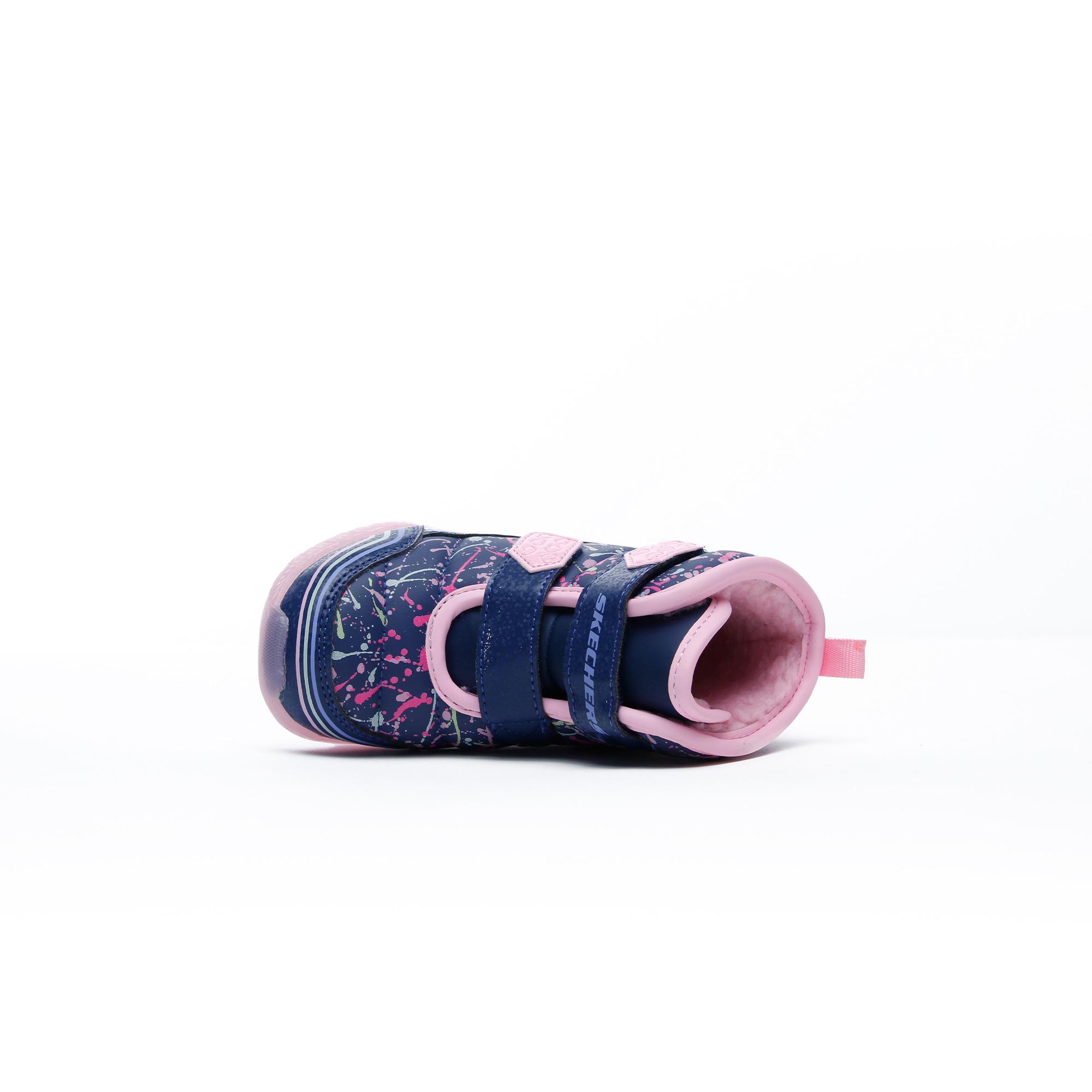 Skechers Illumi-Brights Bebek Lacivert Spor Ayakkabı