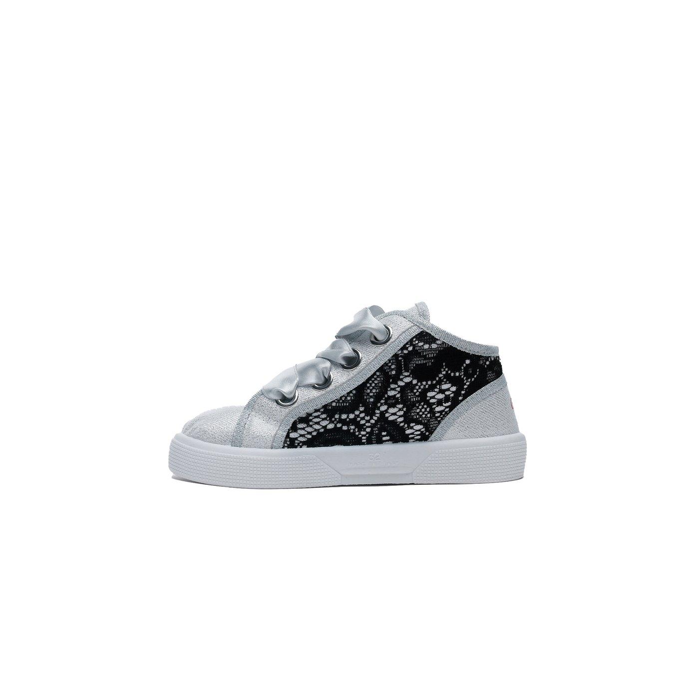 Guess Piuma Lace Çocuk Gri Günlük Ayakkabı