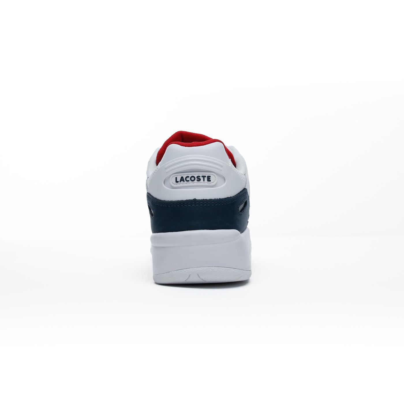 Lacoste Storm 96 Erkek Beyaz-Lacivert Spor Ayakkabı