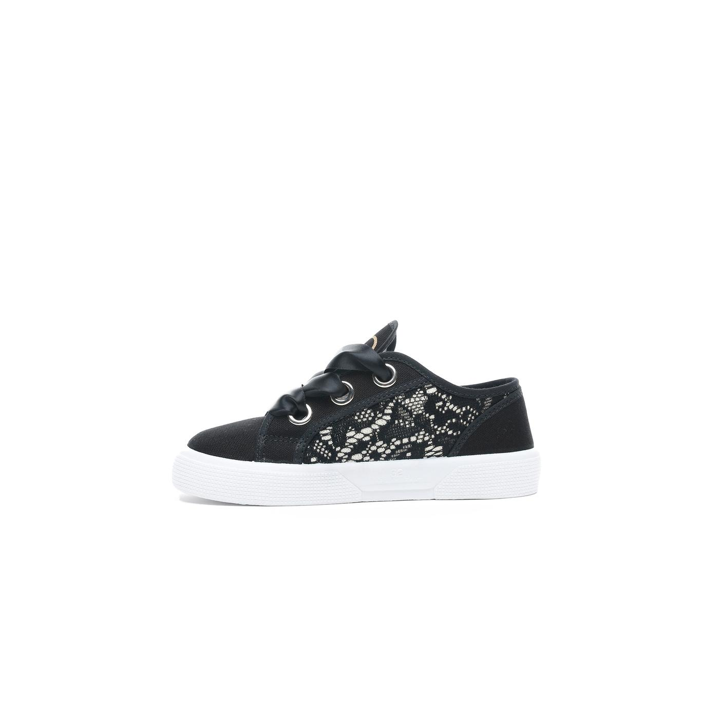 Guess Piuma Lace Çocuk Siyah Günlük Ayakkabı
