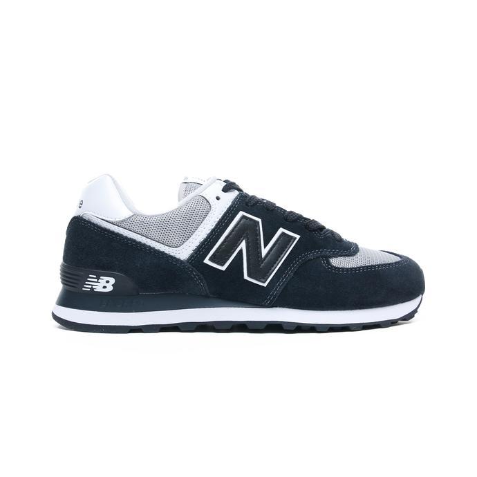 574 Erkek Siyah Spor Ayakkabı
