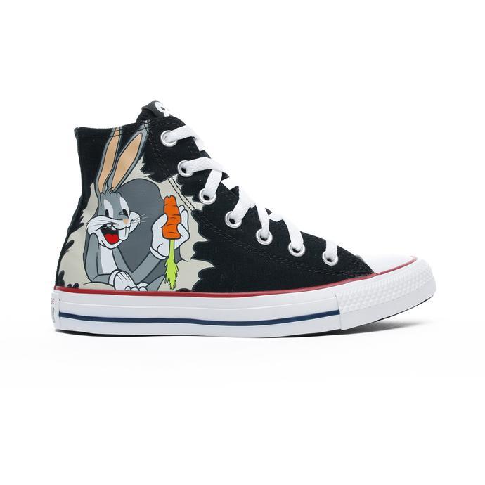 Converse x Bugs Bunny Chuck Taylor All Star Kadın Siyah Sneaker