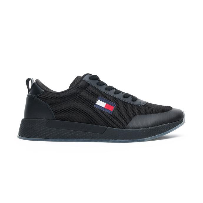 Tommy Jeans Flexi Erkek Siyah Spor Ayakkabı