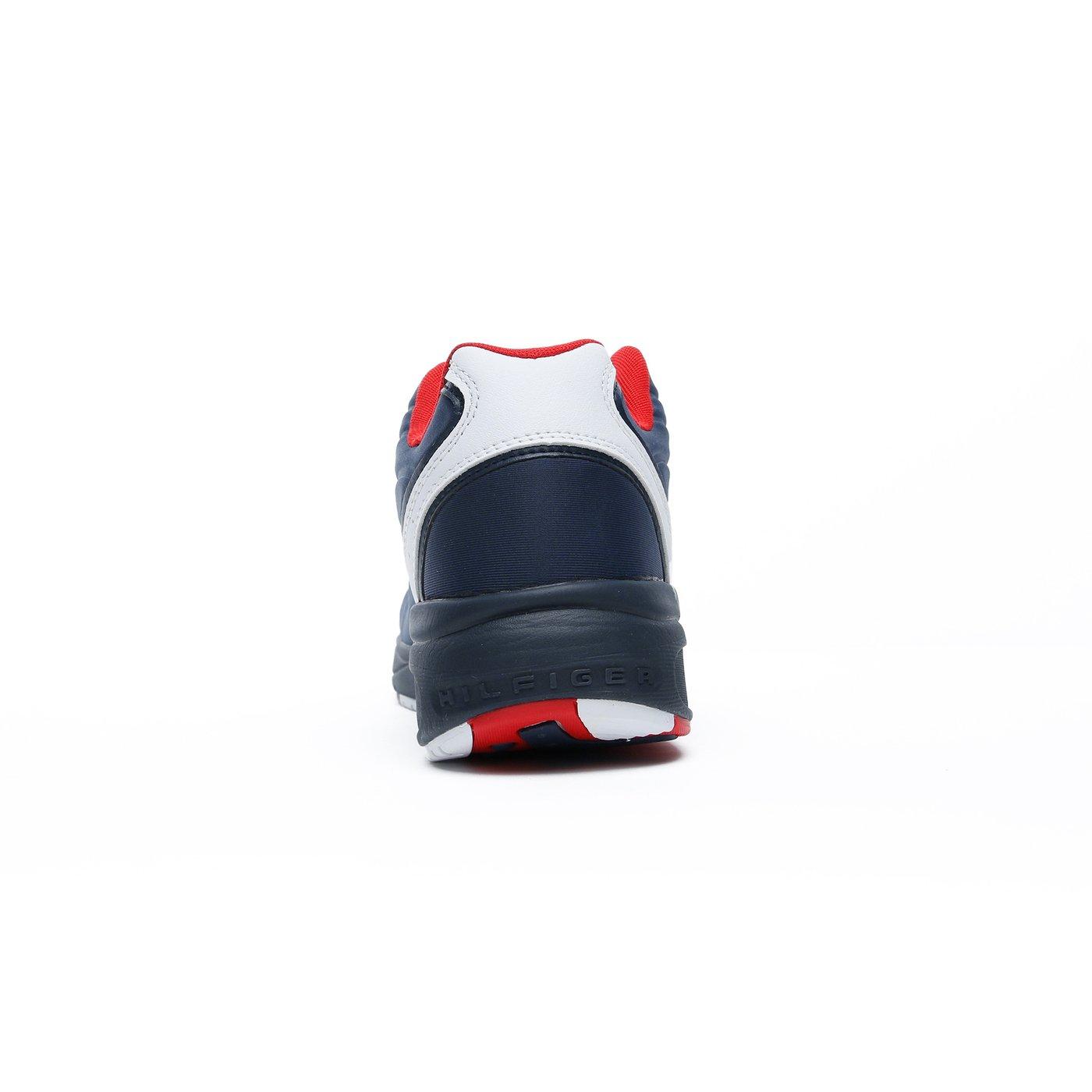 Tommy Hilfiger Heritage Mix Erkek Lacivert Spor Ayakkabı