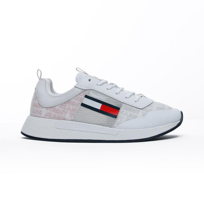 Tommy Hilfiger Print Flexi Kadın Beyaz Spor Ayakkabı