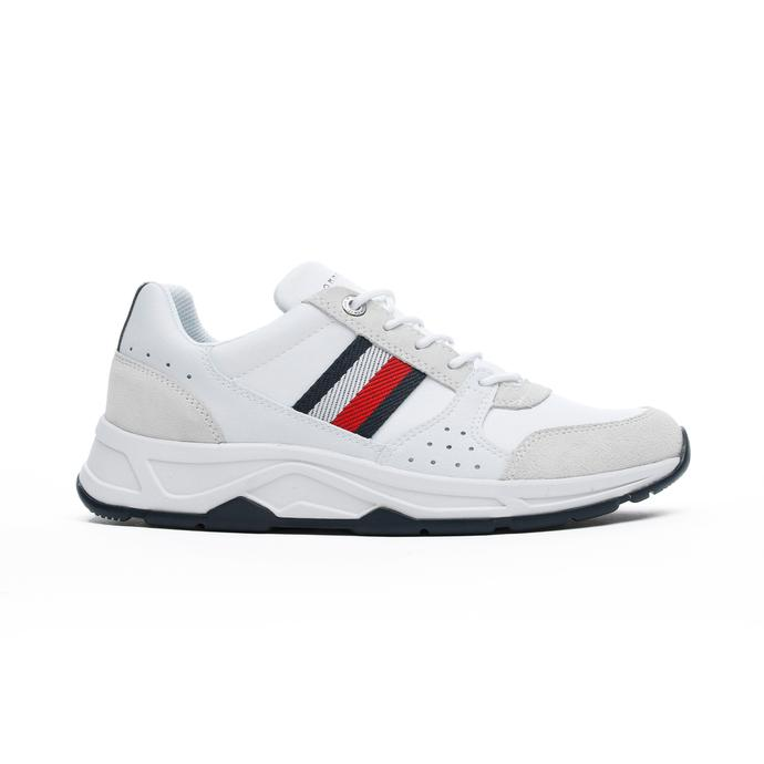 Tommy Hilfiger Fashion Erkek Beyaz Spor Ayakkabı