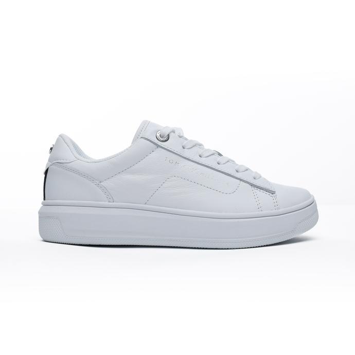 Tommy Hilfiger Cupsole Kadın Beyaz Spor Ayakkabı