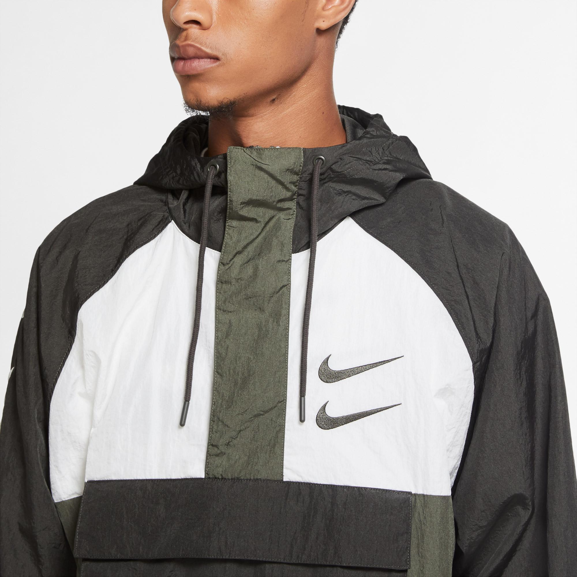 Nike Sportswear Swoosh Erkek Yeşil Ceket