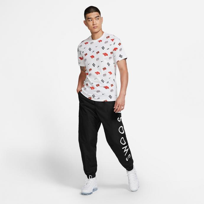 Nike Sportswear Swoosh Siyah Erkek Eşofman Altı