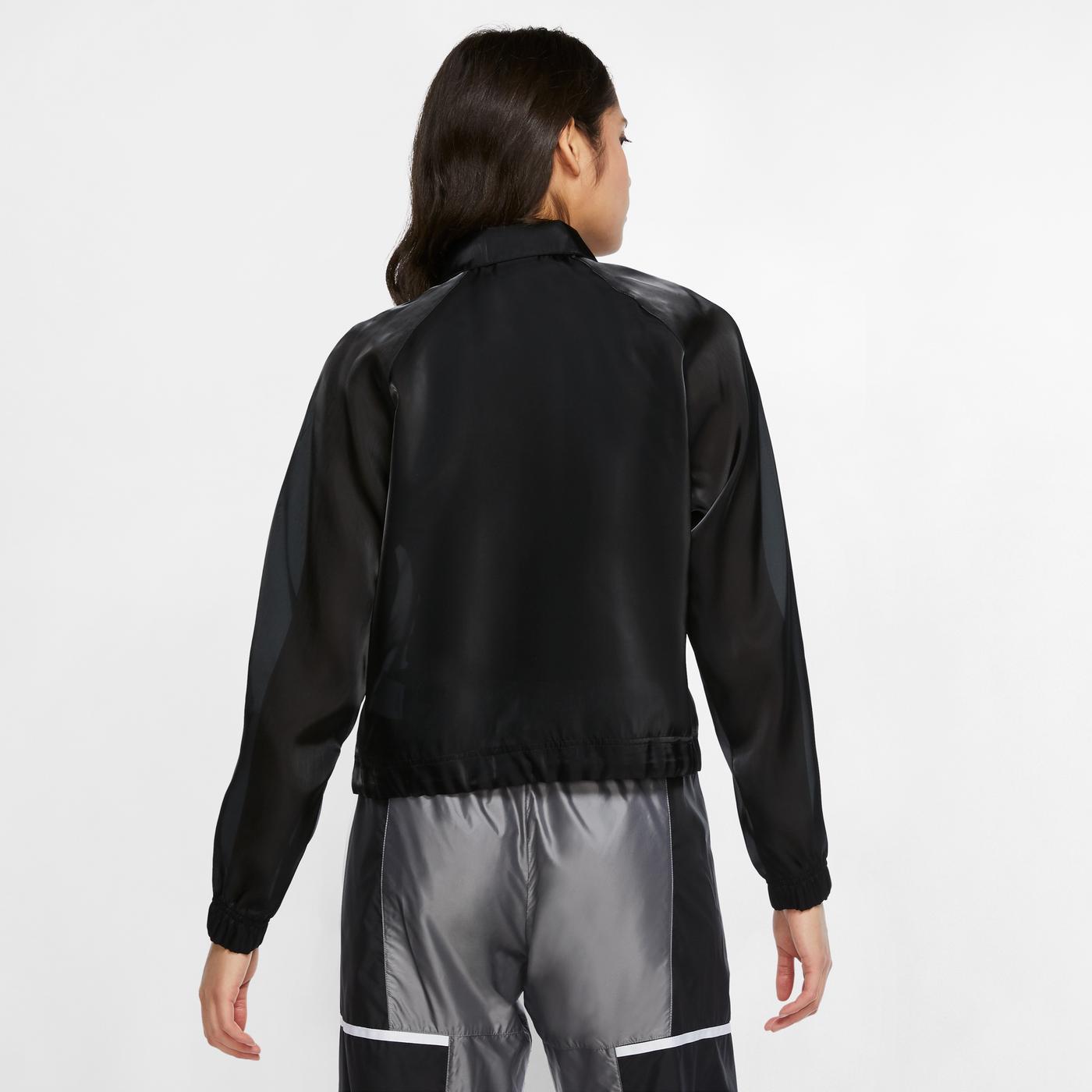 Nike Sportswear Air Kadın Siyah Eşofman Üstü