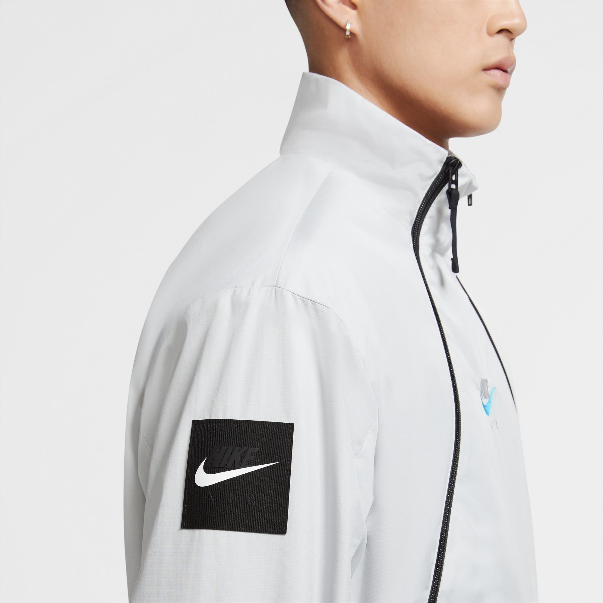 Nike Air Erkek Beyaz Eşofman Üstü