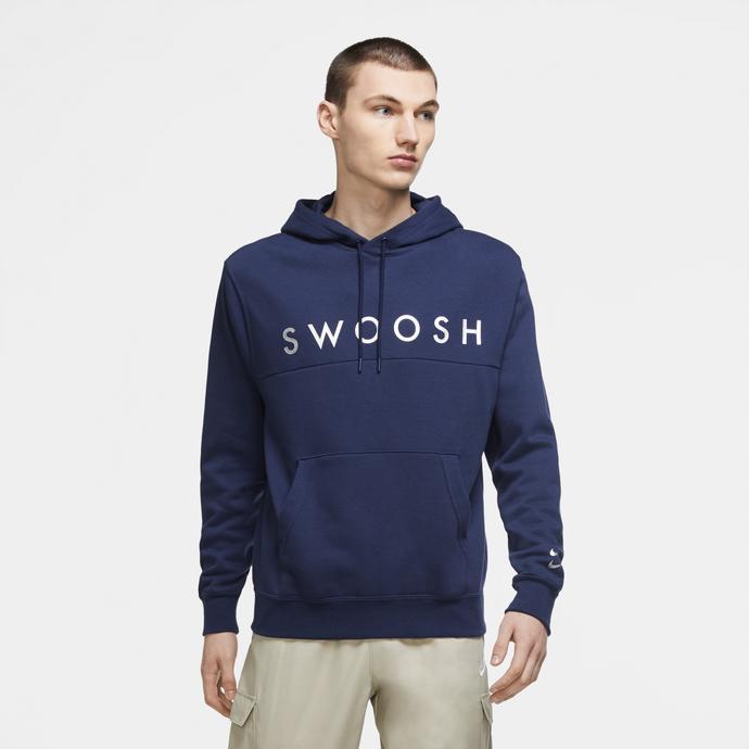 Nike Sportswear Swoosh Erkek Lacivert Ceket