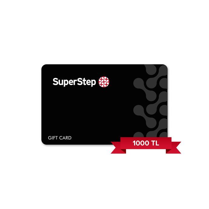 Superstep 1000 TL Hediye Kartı