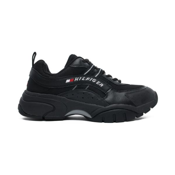 Tommy Hilfiger Heritage Tommy Jeans Erkek Siyah Spor Ayakkabı