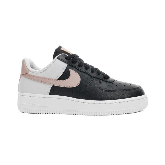 Nike Air Force 1 '07 Kadın Siyah-Bej Spor Ayakkabı