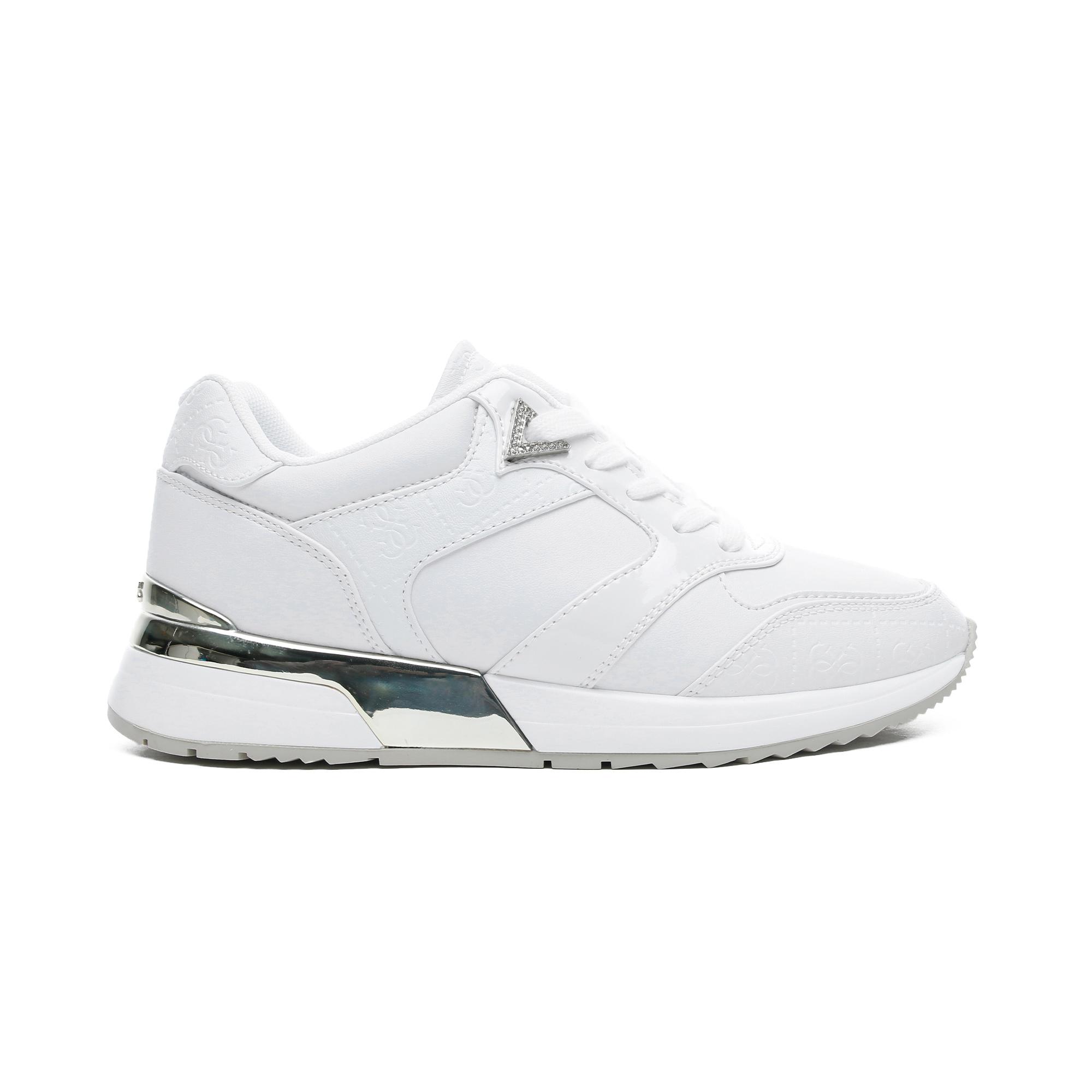 Guess Motiv Kadın Beyaz Spor Ayakkabı