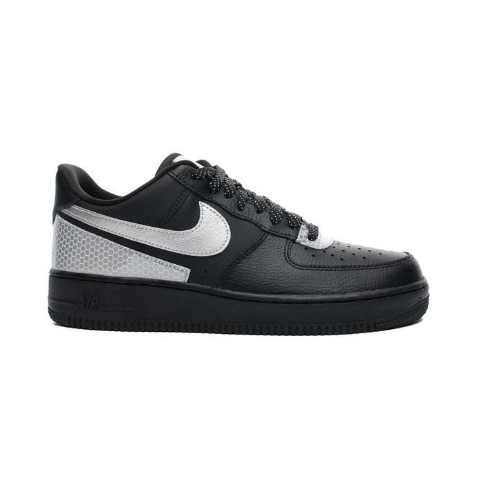Nike Air Force 1 '07 LV8 3M Erkek Siyah Spor Ayakkabı