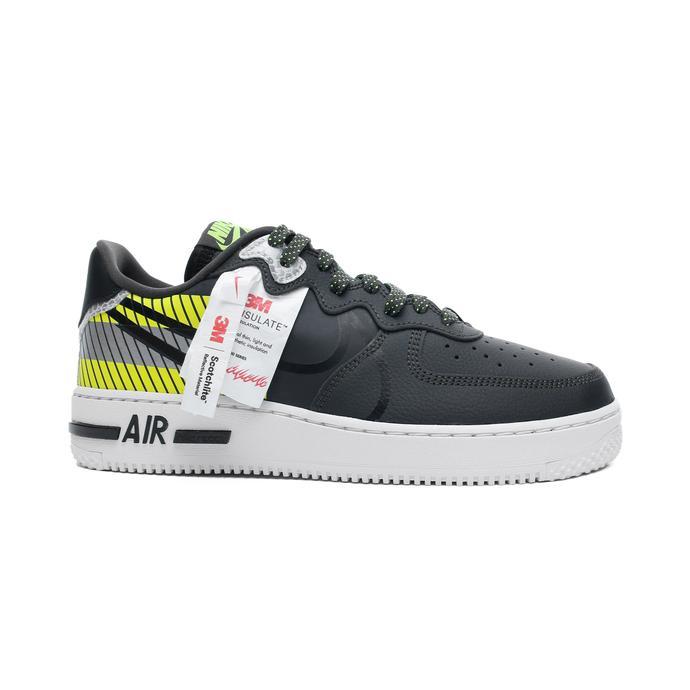 Nike Air Force 1 React LX Erkek Siyah Spor Ayakkabı