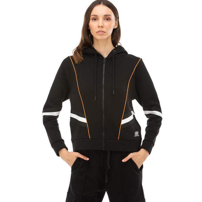 Skechers High Vibes 2 Kadın Siyah Sweatshirt