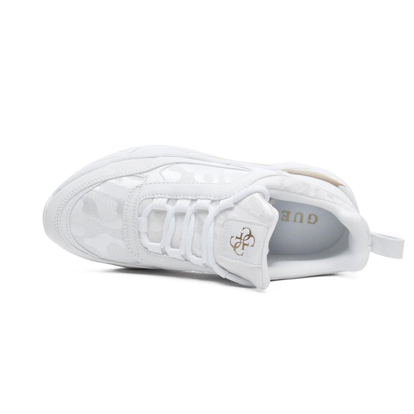 Guess Frankey Kadın Beyaz Spor Ayakkabı