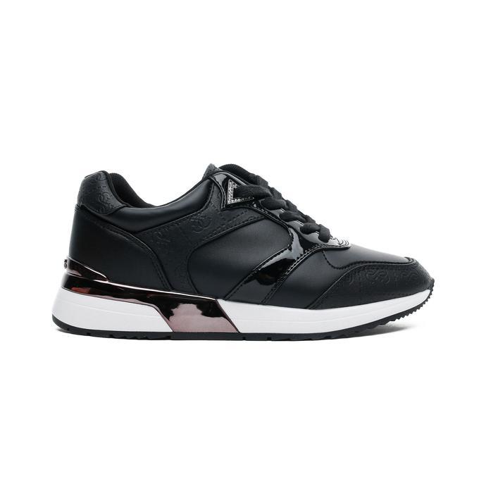 Guess Motiv Kadın Siyah Spor Ayakkabı