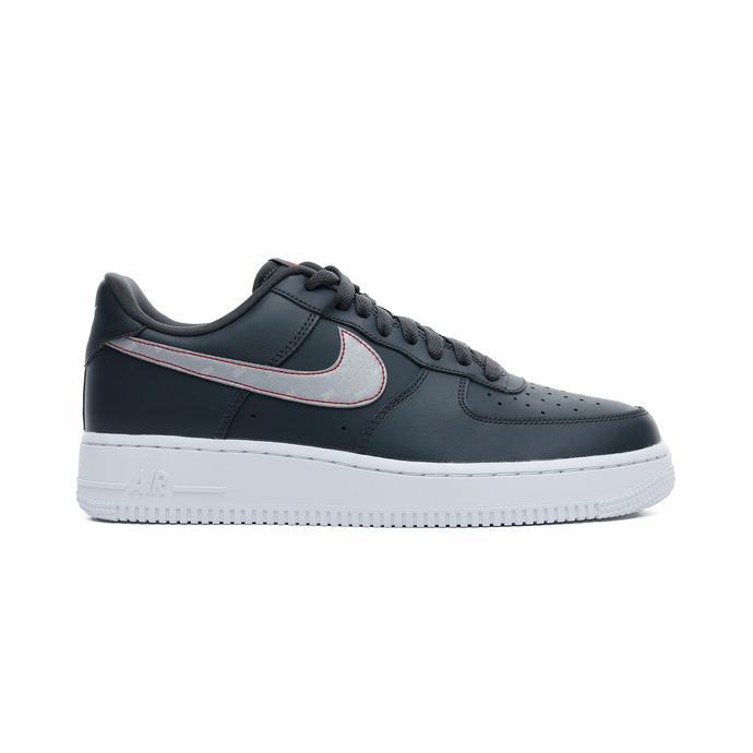 Nike Air Force 1 07 Reflective Erkek Siyah Spor Ayakkabı