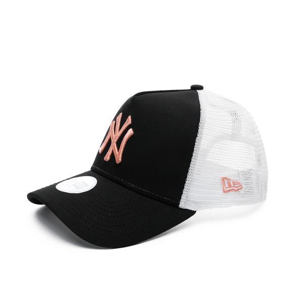 New Era New York Yankees Unisex Siyah-Beyaz Şapka
