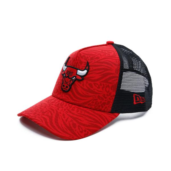 New Era Chicago Bulls Unisex Kırmızı Şapka