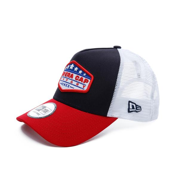 New Era Unisex Kırmızı-Siyah Şapka