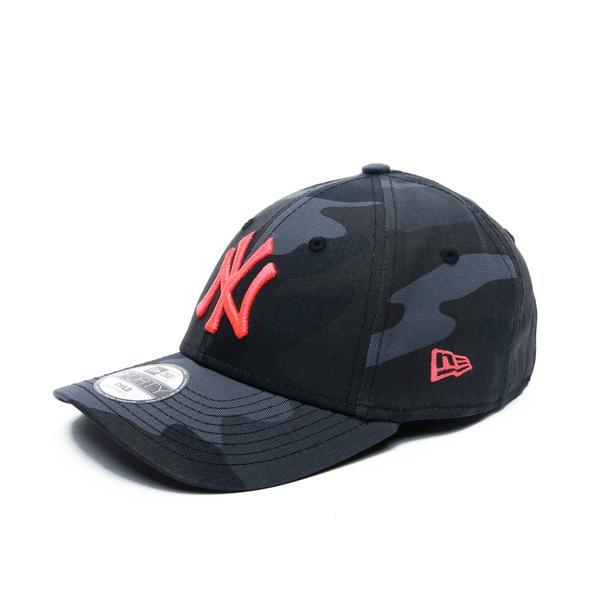 New Era New York Yankees 940 Çocuk Gri Şapka