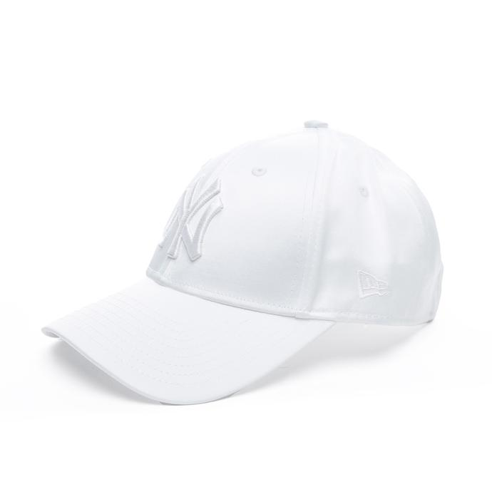 New Era Mlb Satin 9Forty New York Yankees Unisex Beyaz Şapka