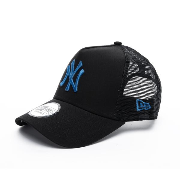 New Era League Essential Af Trucker New York Yankees Unisex Siyah Şapka