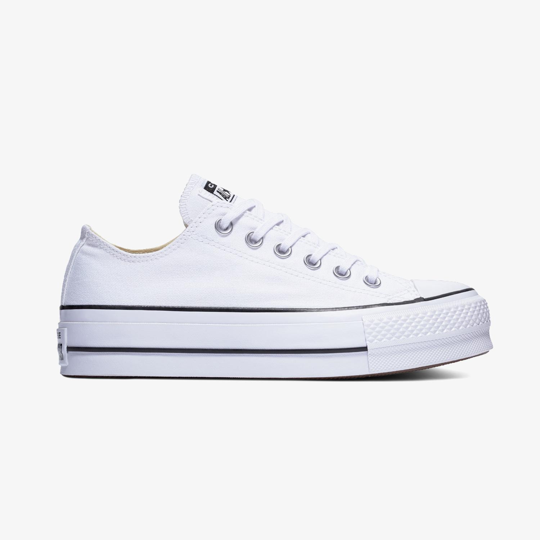 Converse Chuck Taylor All Star Lift Kadın Beyaz Sneaker