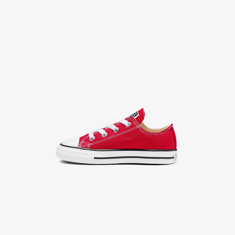 Converse Chuck Taylor All Star Bebek Kırmızı Sneaker