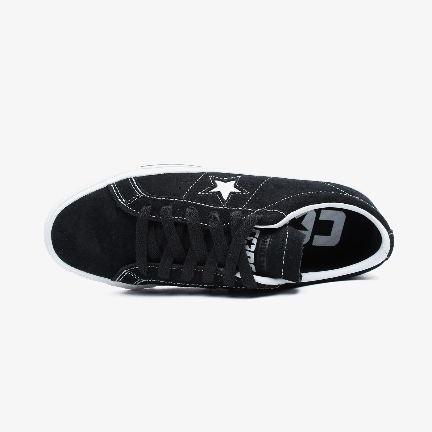 Converse One Star Pro Unisex Siyah Sneaker