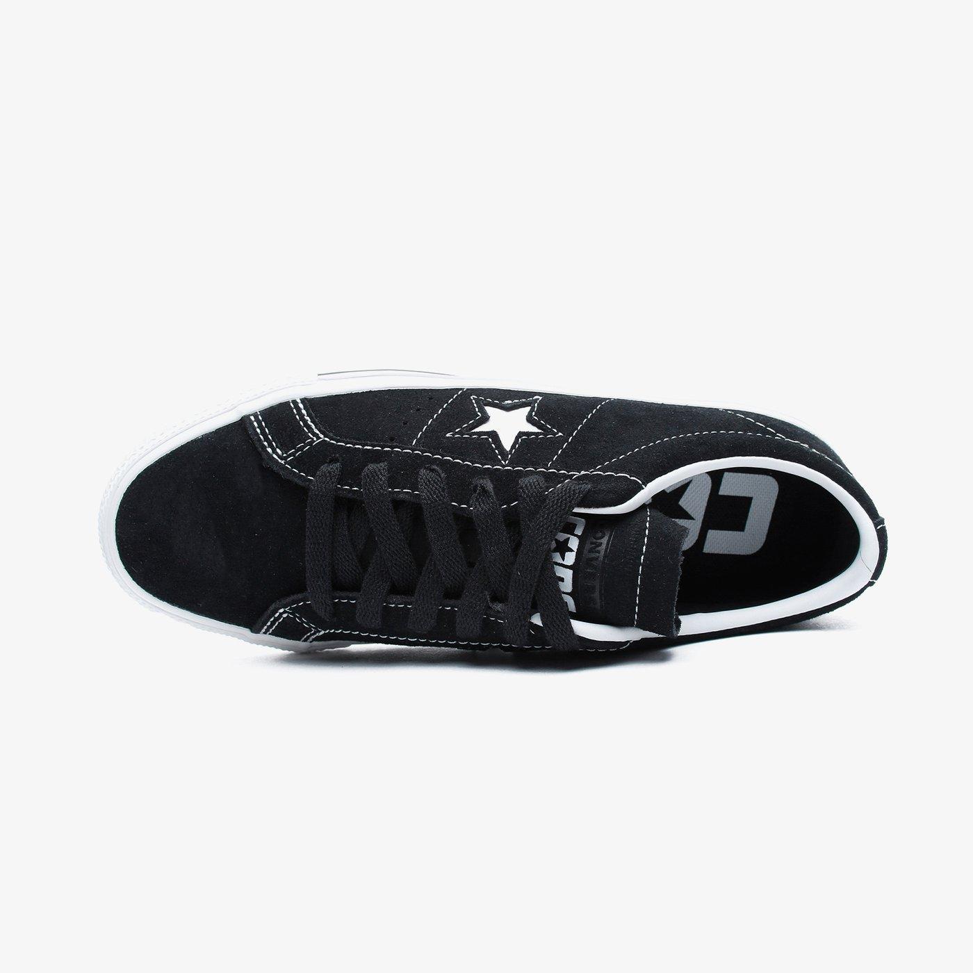 Converse One Star Pro Kadın Siyah Sneaker