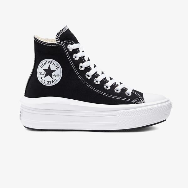 Converse Chuck Taylor All Star Move Platform Hi Kadın Siyah Sneaker