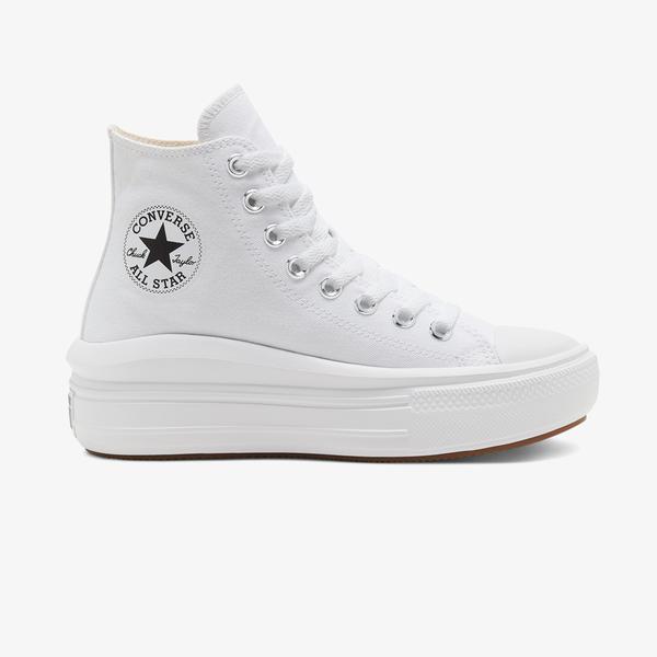 Converse Chuck Taylor All Star Move Platform Hi Kadın Beyaz Sneaker