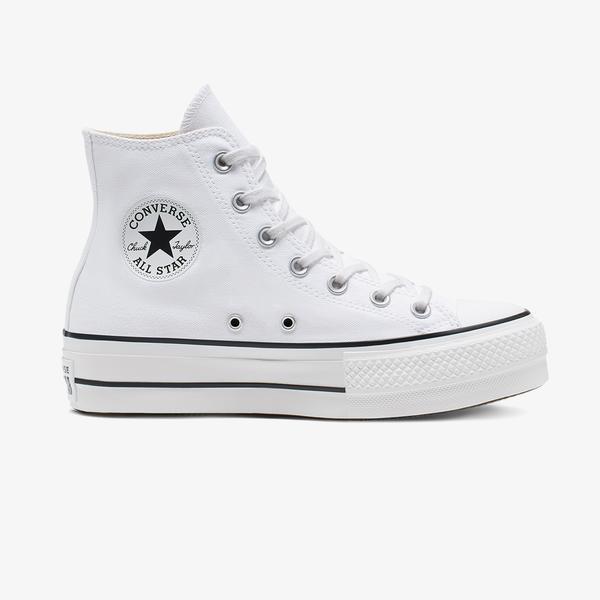 Converse Chuck Taylor All Star Lift Hi Kadın Platform Beyaz Sneaker