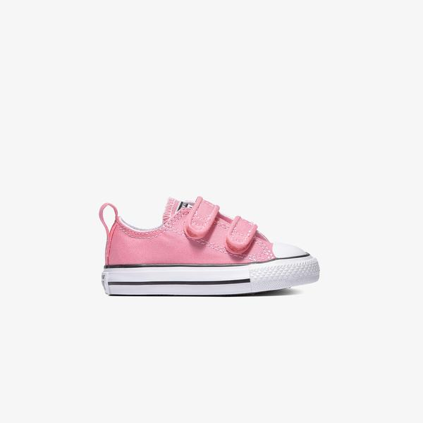 Converse Chuck Taylor All Star 2V Hook And Loop Bebek Pembe Sneaker